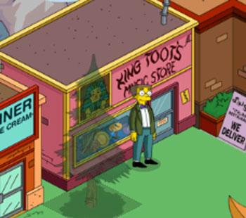 Смитерс и Ларго в магазине Царь тут