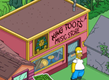 Гомер в магазине Царь тут