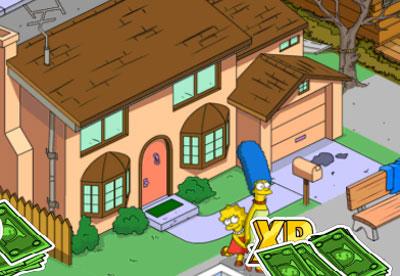 Мардж вытащила занозы из языка Лизы
