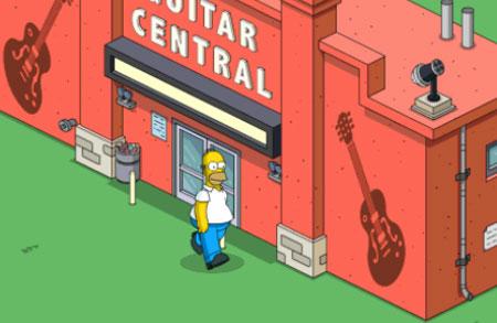 Гомер вернулся в гитарный центр