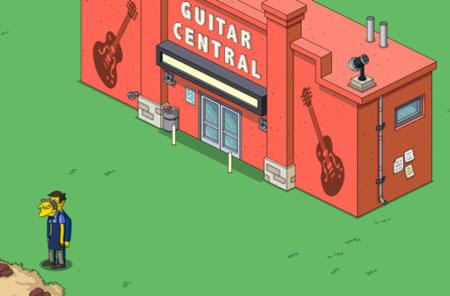 Взрослые покупают гитары