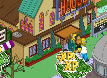 Гомера бьют в церкви