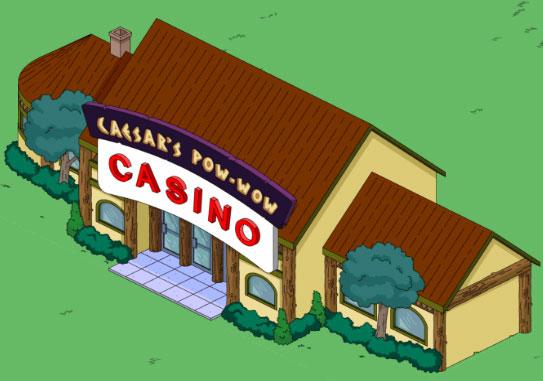 Индейское казино Цезаря