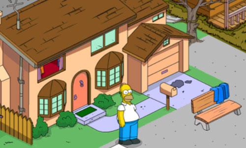 Заставить Гомера прятаться в подвале дома
