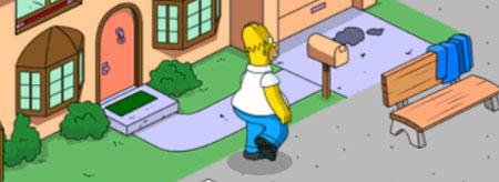 Гомер укрепляет подвал