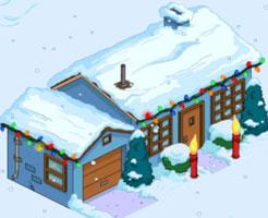 Рождественский Синий дом