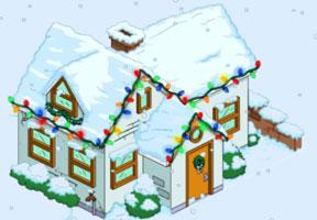 Рождественский Белый дом