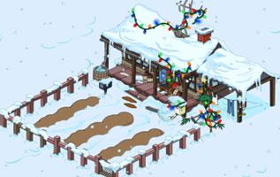Рождественская ферма Клетуса