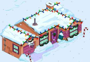 Рождественский Оранжевый дом