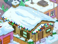 Рождественский коричневый дом