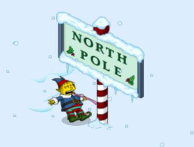 Ральф лижет Северный полюс