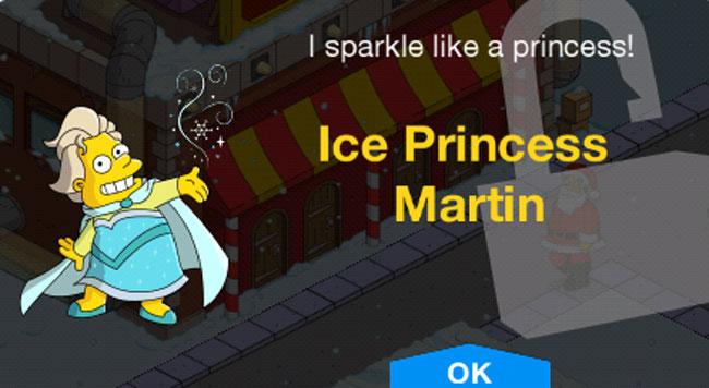 Ледяная принцесса Мартин лого