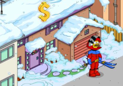 Нед одевает лыжный костюм