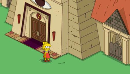 Лиза крадет документы каменщиков