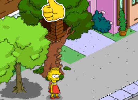 Барт и Лиза строят планы против каменщиков