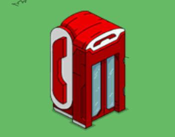 Телефонная будка Зенит-сити