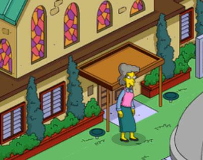 Хелен в церкви