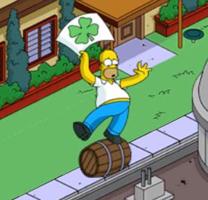 Гомер рекламирует пиво