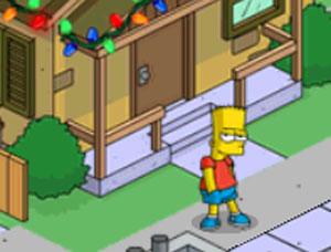 Барт в коричневом доме