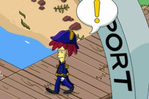 Капитан Боб в порту