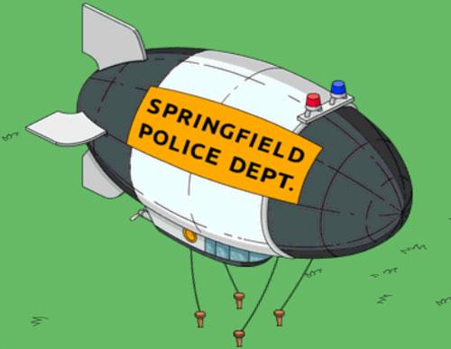 Полицейский дирижабль