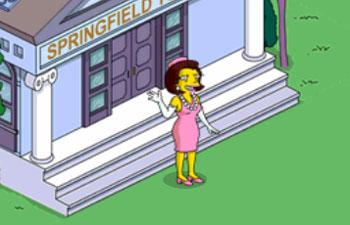 Миссис Куимби руководит Спрингфилдом
