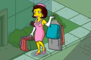 Миссис Куимби делает покупки