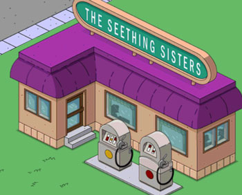 Бензоколонка Взрывные сестры