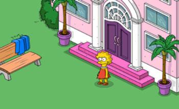 Лиза тестирует новую игру