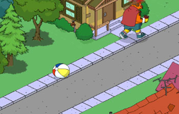 Мяч в другом Спрингфилде