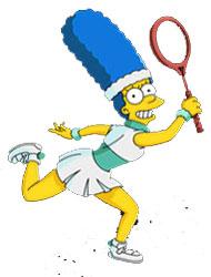 Теннисистка Мардж