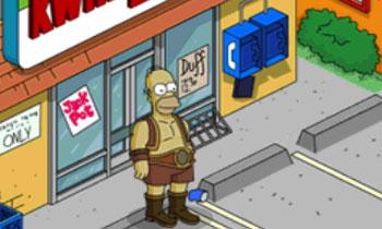 Силач Гомер сражается с восьмерняшками