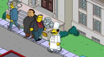 Свидетели по делу Гомера Симпсона