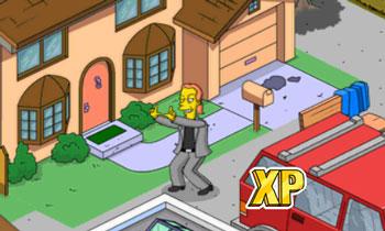 Деклан снимает дом Симпсонов