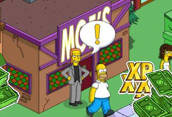 Гомер с Декланом пьют у Мо