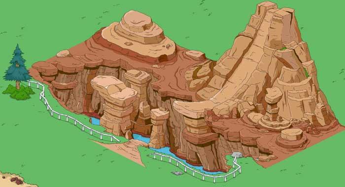 Спрингфилдское ущелье