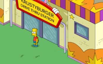 Барт на монорельсе