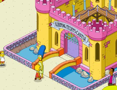 Мардж и Лиза на концерте у принцессы Пенелопы