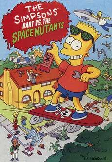 Барт Симпсон против мутантов игра