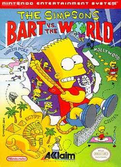 Игра Симпсоны: Барт против всего мира
