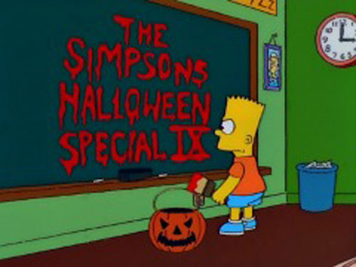Дом ужасов Барт Симпсон