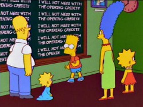 Симпсоны всей семьей в школе Спрингфилда