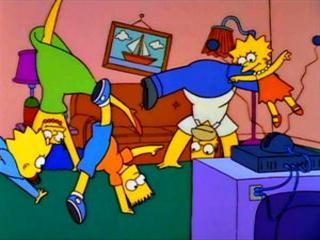 Симпсоны катятся колесом