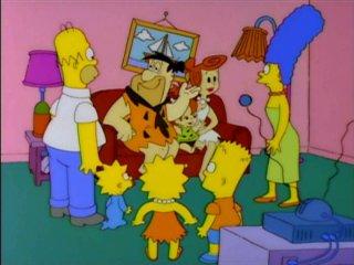 Флинстоуны и Симпсоны