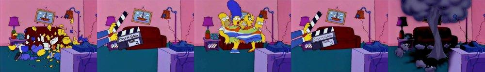 Симпсоны взрываются