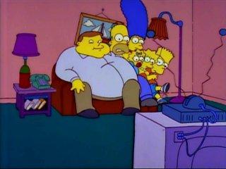 Толстяк и Симпсоны