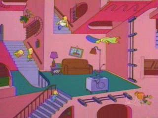 Лестница Симпсоны