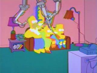 Симпсоны на диване