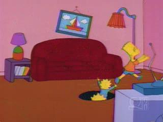 Симпсонов засасывает в дыру