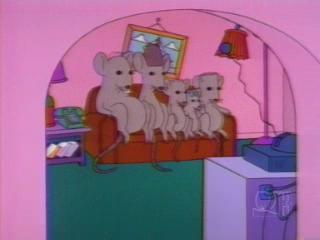 Семья мышей